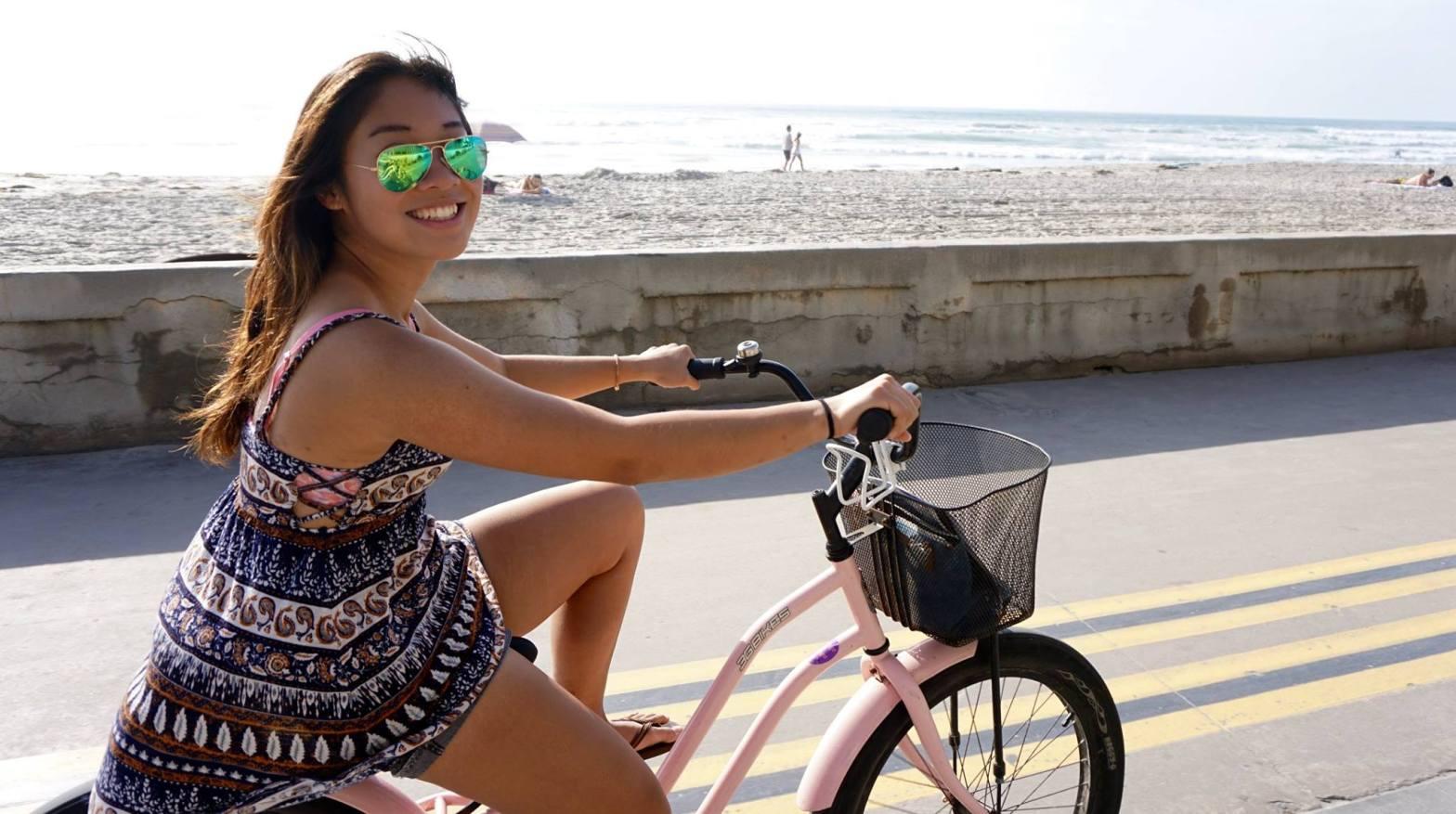 Biking in San diego